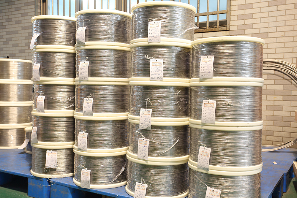 Nickel-chromium and nickel-chromium-iron alloy wire